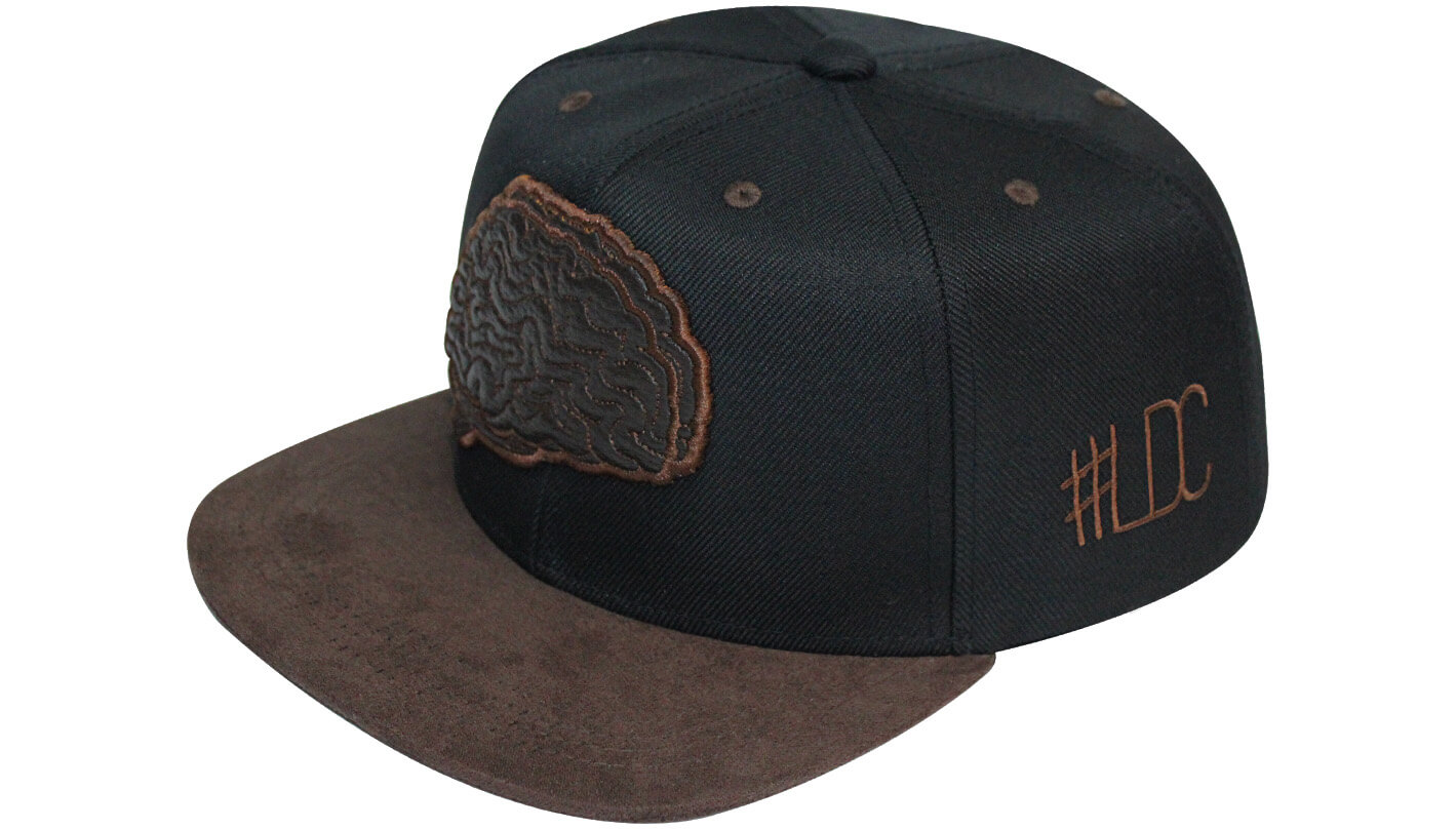 Boné snapback aba reta marrom - Hezzitu bonés personalizados e80160ccd77