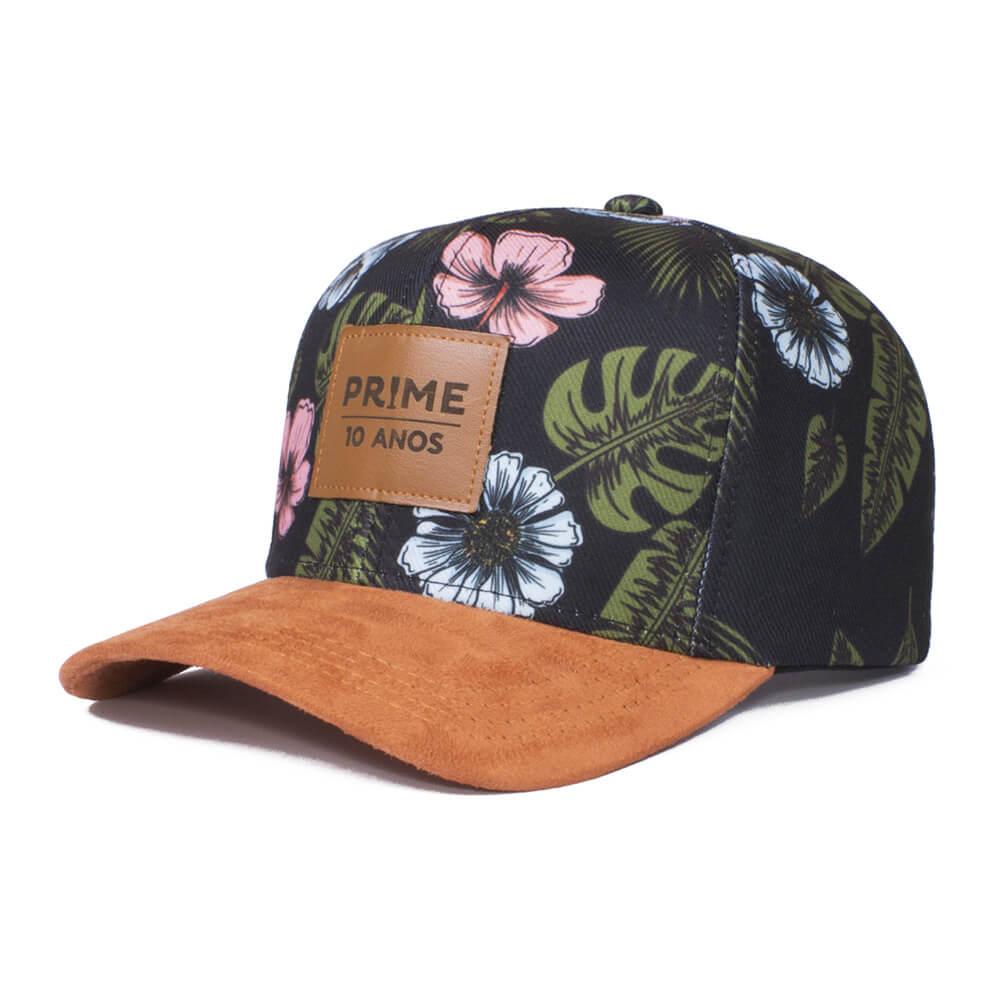 Boné aba curva floral basebol - Hezzitu bonés personalizados bf5e7eaef8f