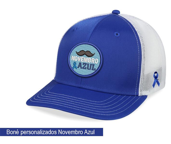c319129262 Boné personalizado Novembro azul - Hezzitu fornecedor e fábrica